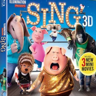 SING Blu-Ray Combo Packs – Giveaway