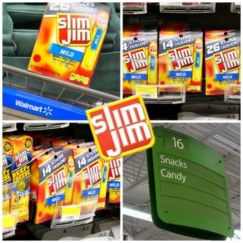 Slim Jim Snacks at Walmart
