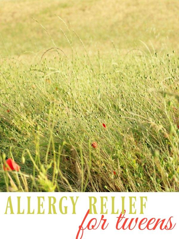 Allergy Relief for Tweens