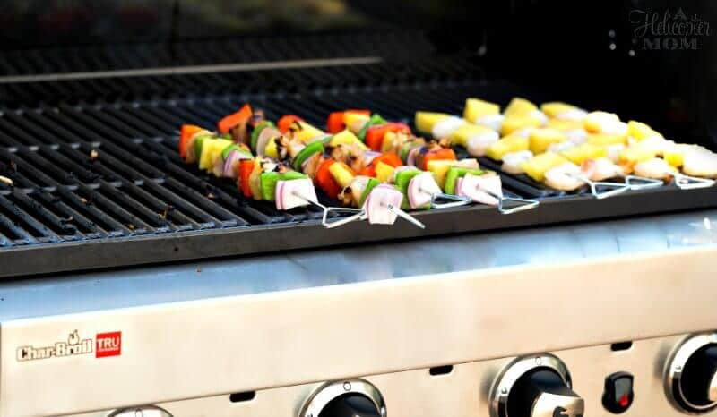 Easy Grilled Chicken Kabobs - On The Grill