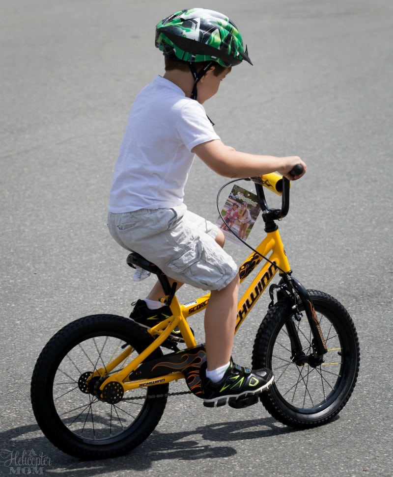 Easy Way to Teach Bike Riding - Free Printable