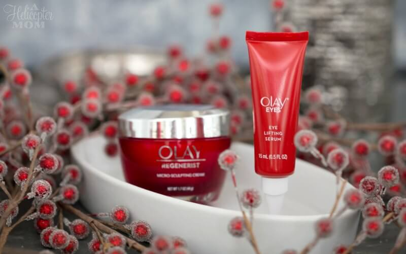 Skin Product Advisor Tool Results Olay Eyes Eye Lifting Serum and Olay Regenerist Micro-Sculpting Cream