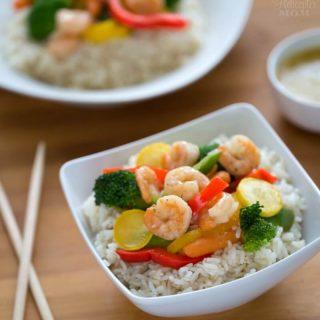 Easy Shrimp Scampi Stir Fry Recipe