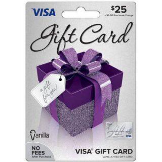 Merry Christmas VISA Giveaway