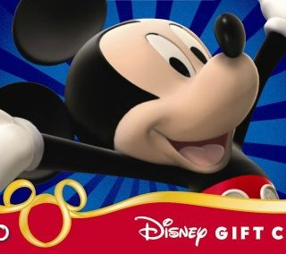 Disney Gift Card Giveaway $250