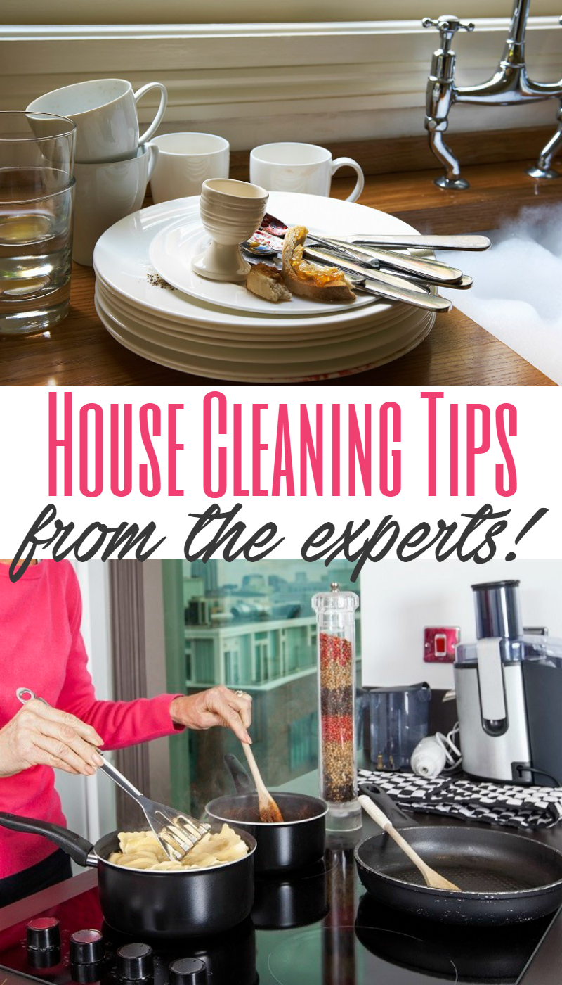 House Cleaning Tips from the Experts