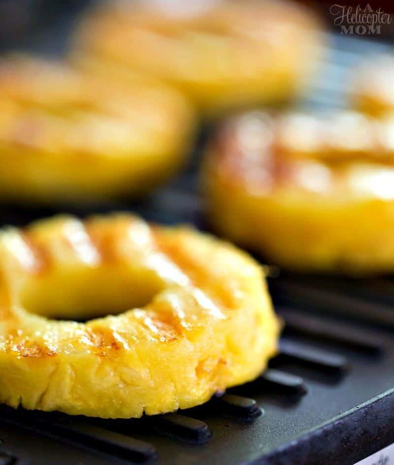 Grilled Pineapple for Pineapple Shrimp