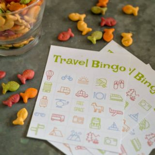 Travel Bingo – Free Printable Bingo Cards for Kids