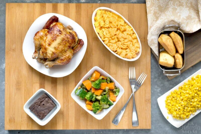 Easy Family Dinner for School Nights