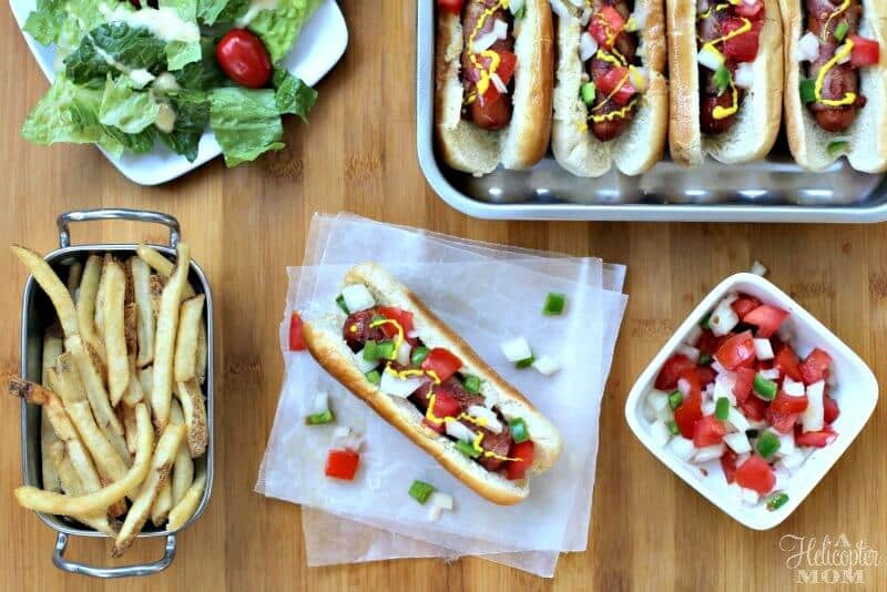 Easy Recipe Bacon Wrapped Hot Dogs