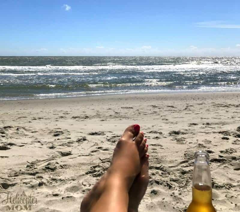 Beach Getaway Enjoying the Waves