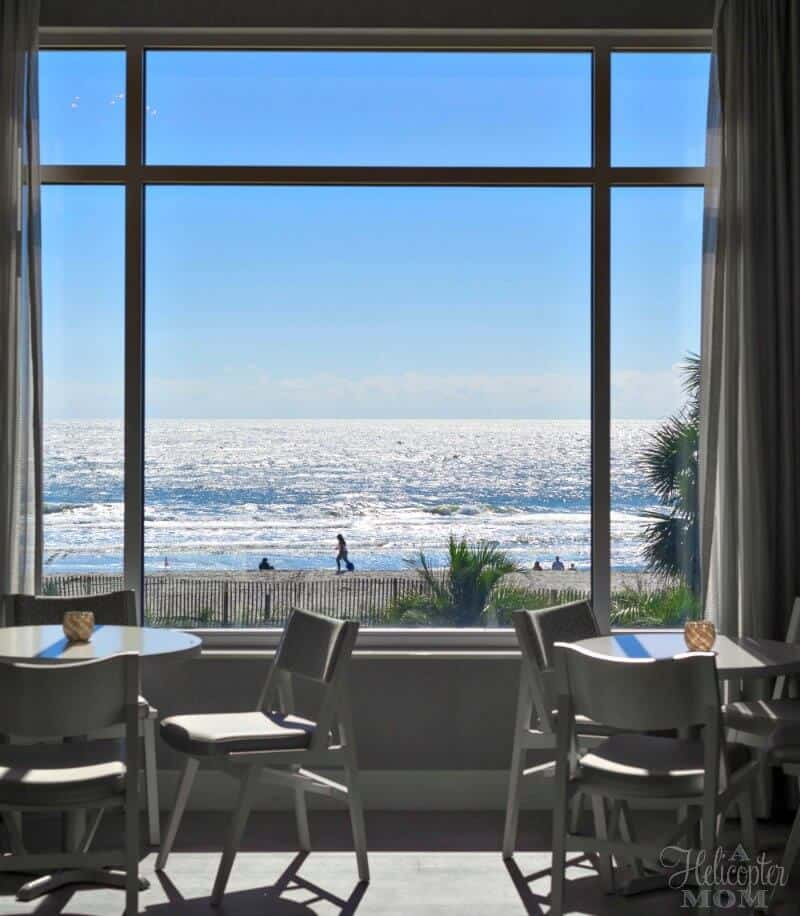 Beach Getaway Oceanfront Dining