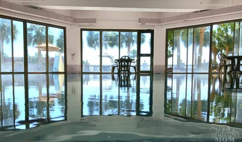 Beach Getaway Relaxing by the Indoor Pool