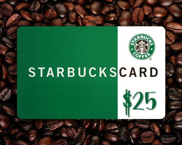$25 giveaway starbucks