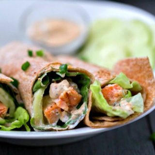 Lemon Dill Dijon Salmon Wrap Recipe – WW Recipe