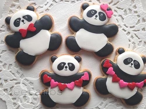 Valentine's Day Pandas
