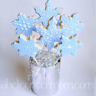 Snowflake Cookies – Christmas Cookies Recipe