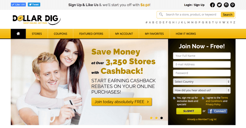 Dollar Dig - How to Earn Money While You Shop