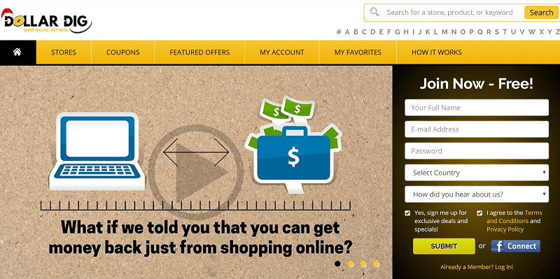 Dollar Dig How to Earn Money While You Are Shopping
