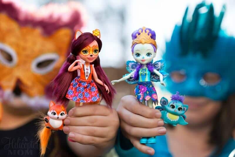 Holiday Gifts - Enchantimals Dolls and Friends