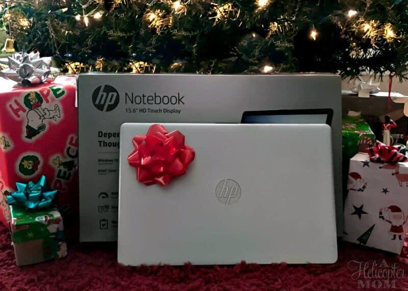 Christmas Presents - HP Jaguar Laptop