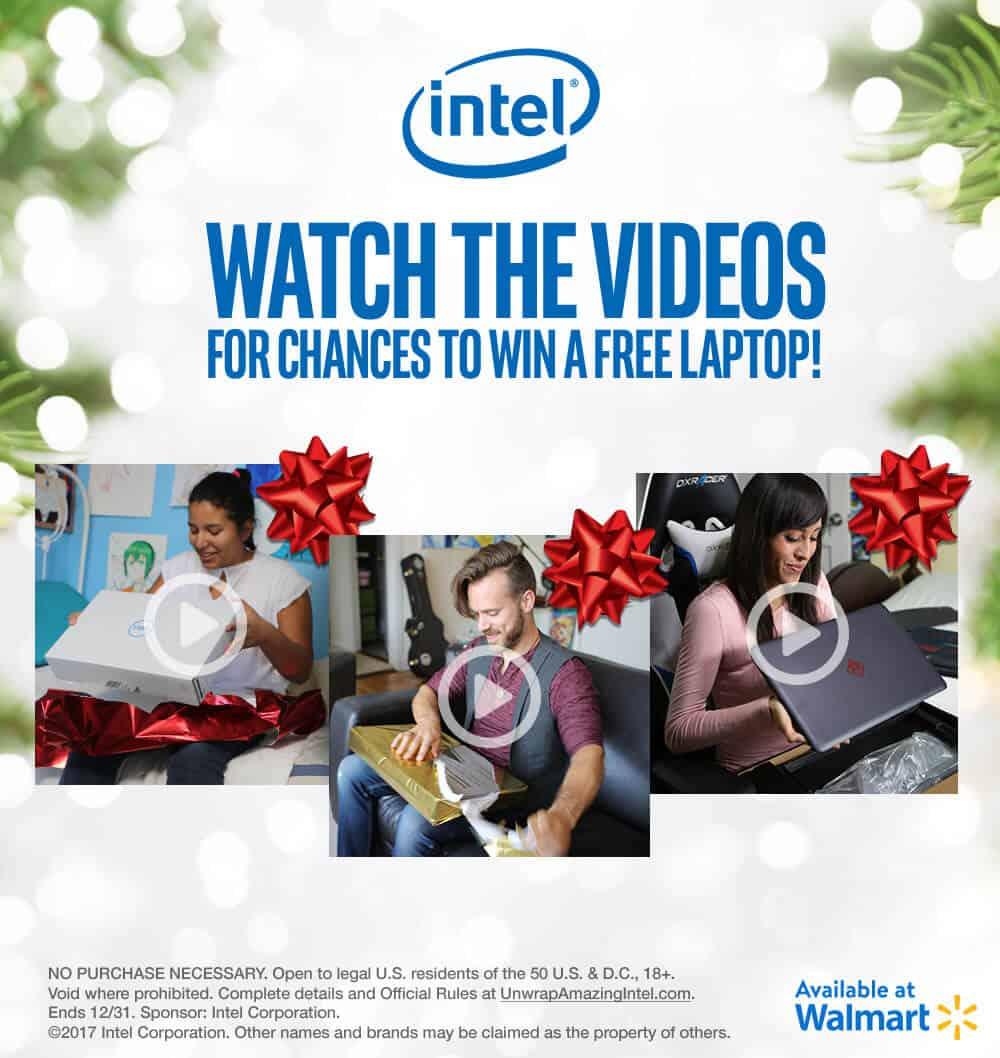 Win a Free Laptop