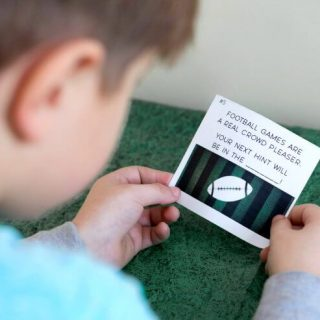 Football Party Fun for Kids – Free Scavenger Hunt Printable