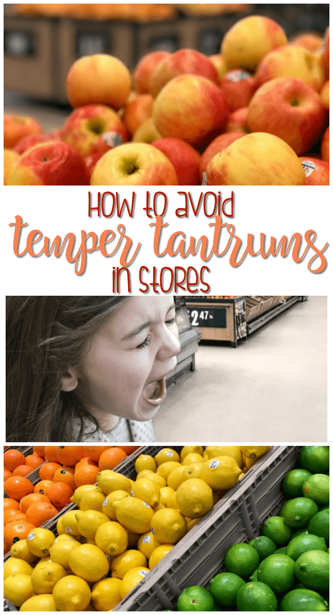 How to Avoid Tantrums in Stores