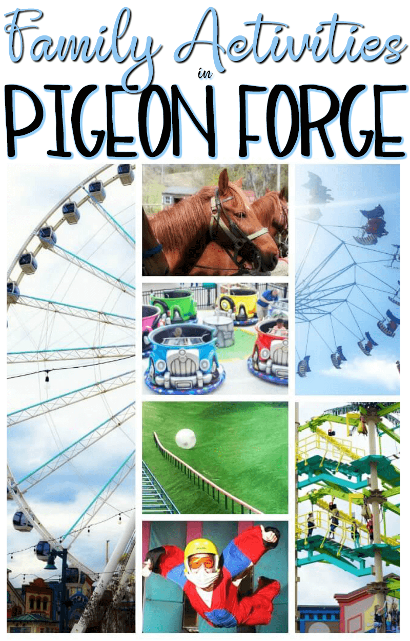 Family Activities in Pigeon Forge Travel Ideas