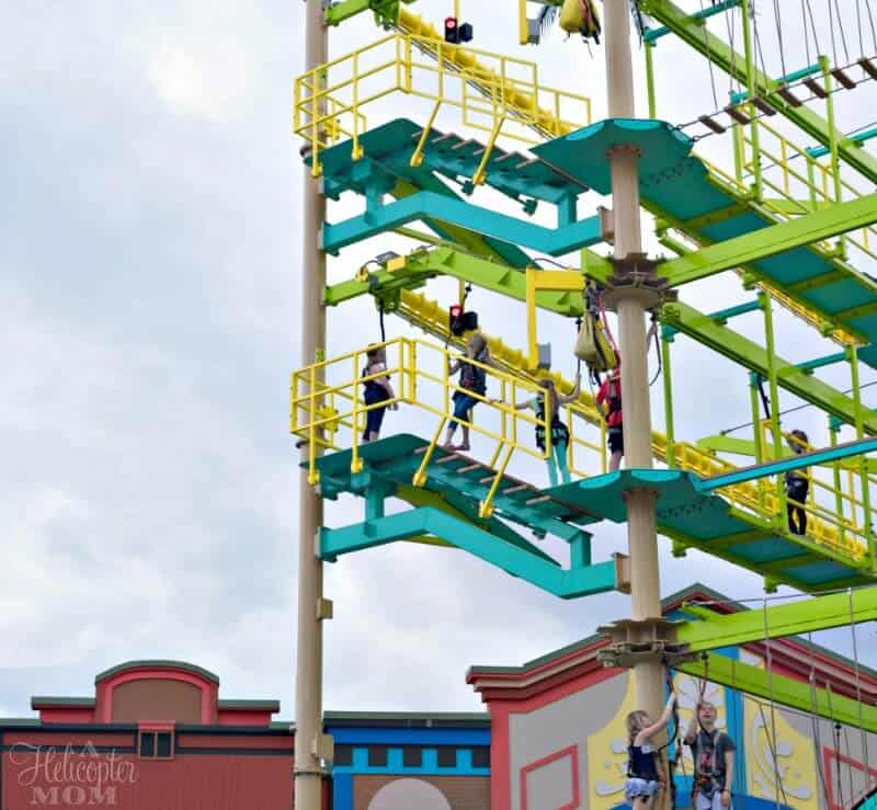 Extreme Adventures in Pigeon Forge - The Island Ropes Course