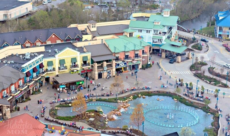 Family Activities in Pigeon Forge - The Island