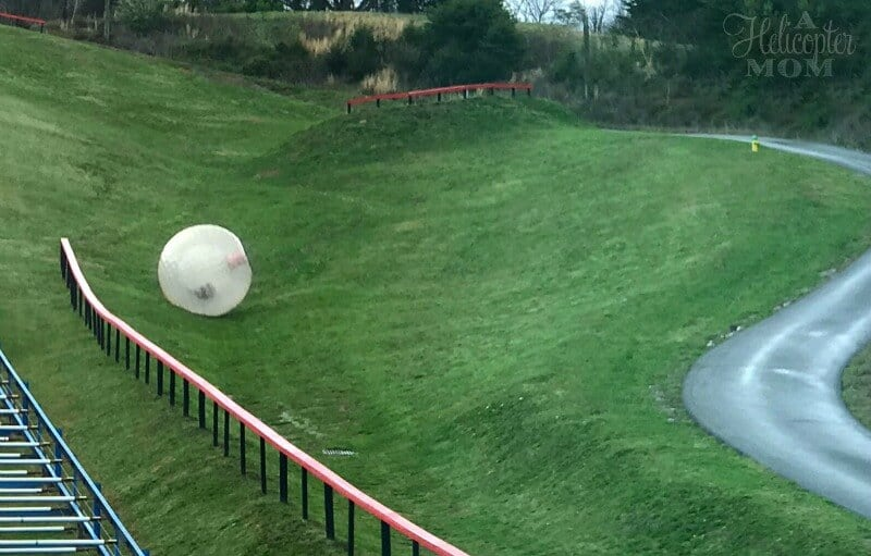 Extreme Adventures in Pigeon Forge - Zorbing