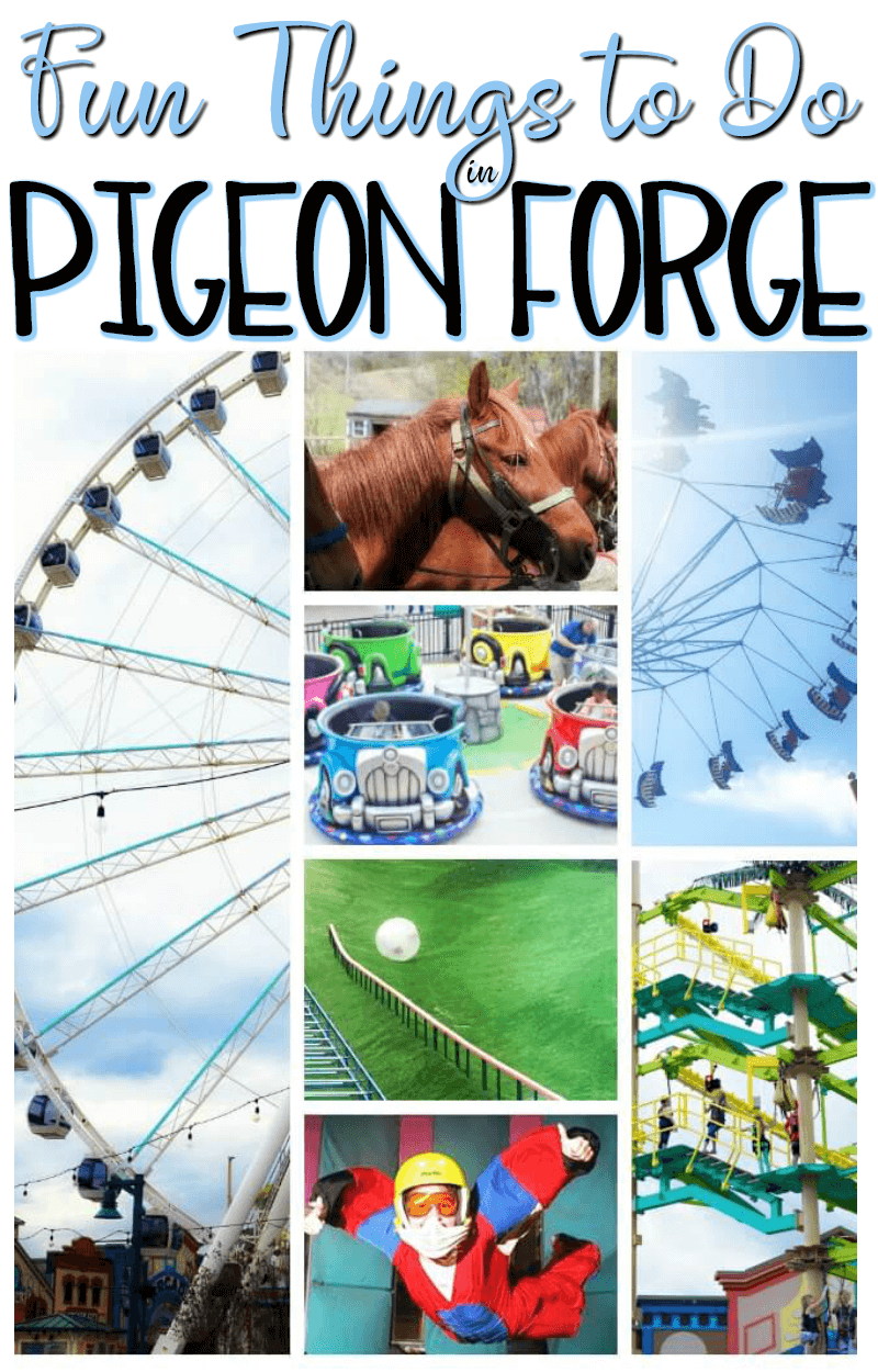 Fun Things to do in Pigeon Forge Travel Ideas