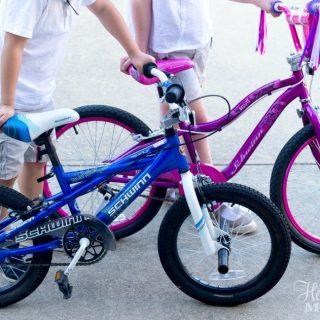 Teaching Bike Riding to Children