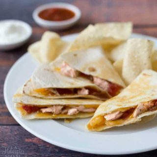 Barbecue Chicken Quesadillas Recipe – Leftover Chicken Recipe