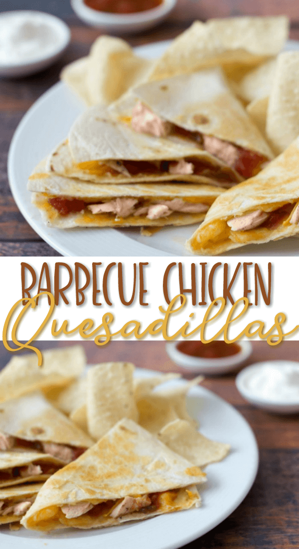 Barbecue Chicken Quesadillas Recipe - Easy Leftover Chicken Recipes