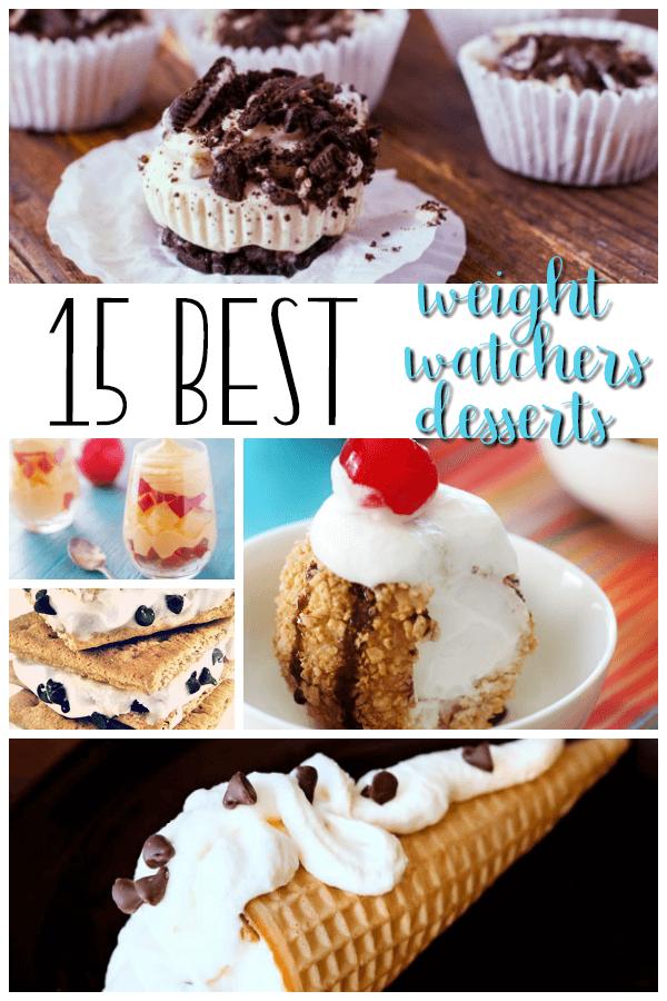 15 Best Weight Watchers Desserts