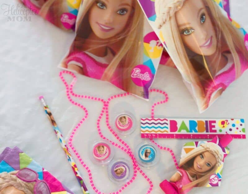 Barbie Party Toys and Goody Bags