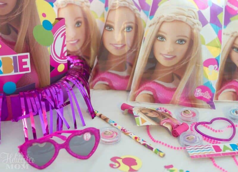 Barbie Party Accessories