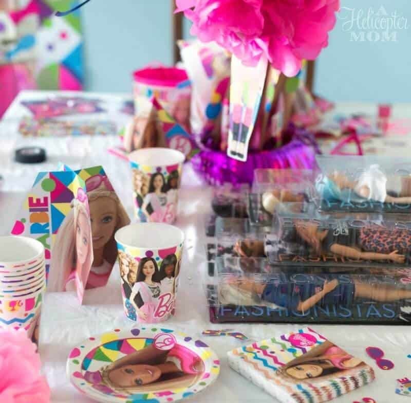 Throwing a Barbie Party