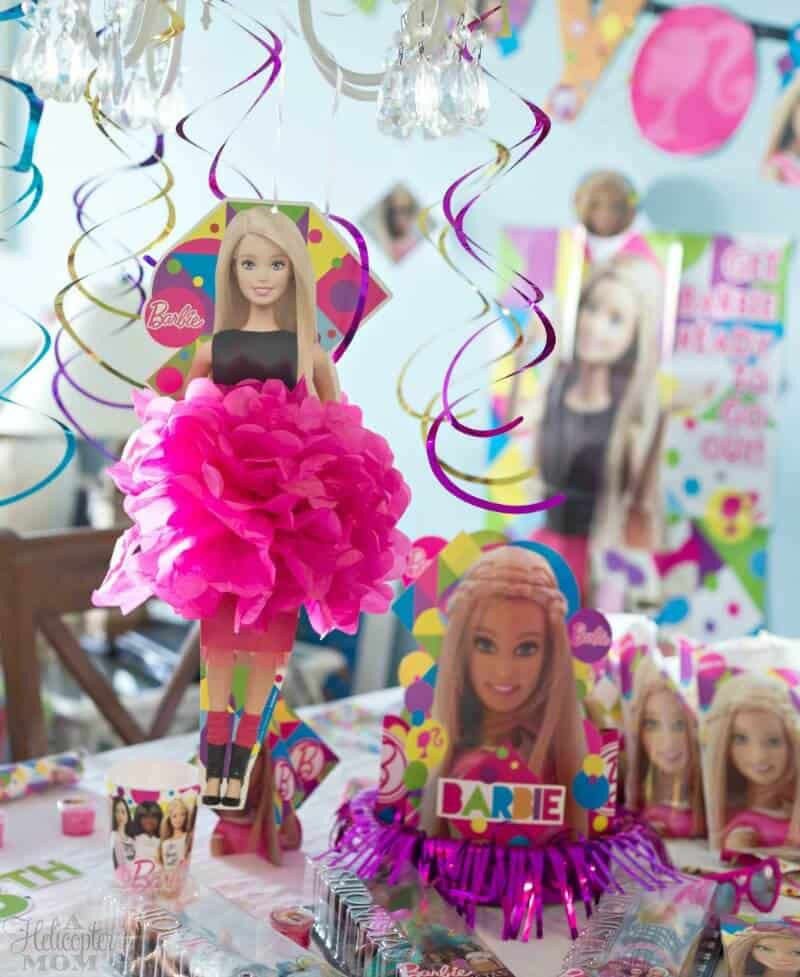 How to Throw a Barbie Party