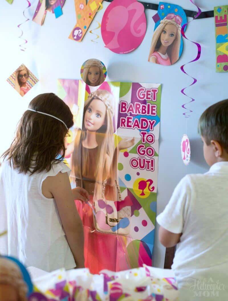 Barbie Party Activities