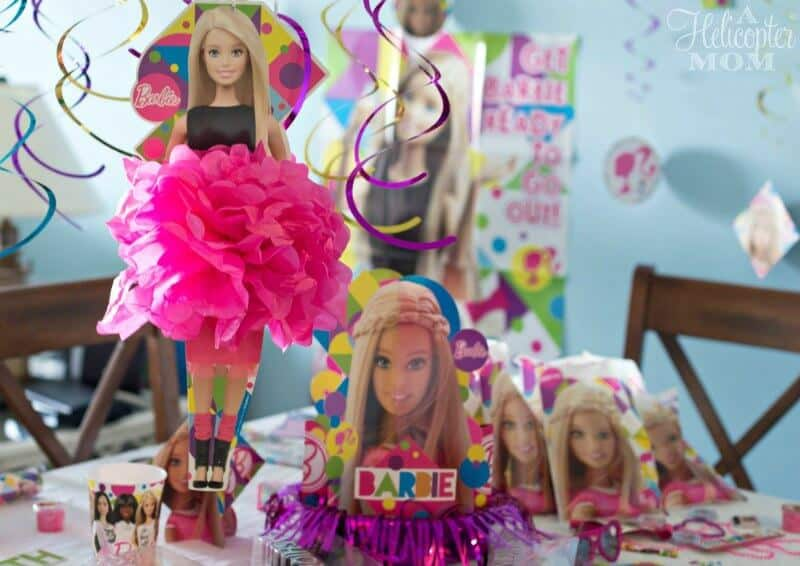 Barbie Birthday Party Accessories