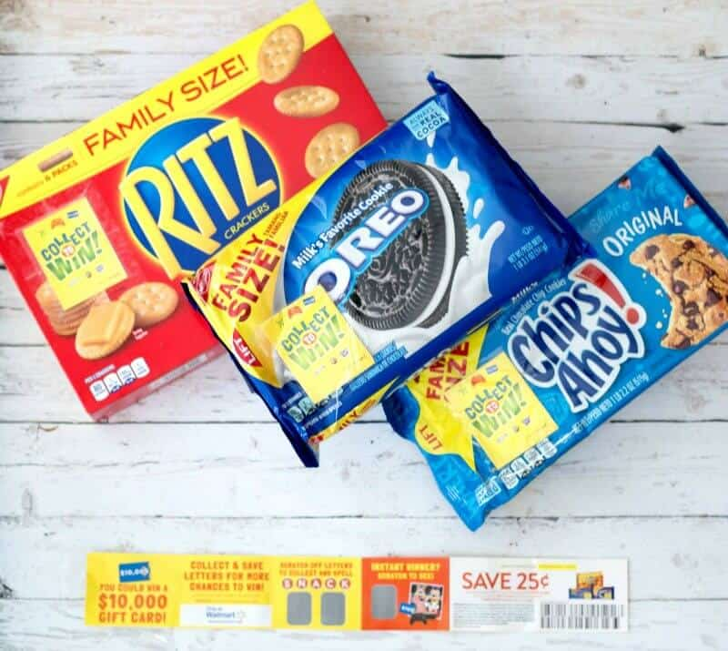 Collect to Win Products from Nabisco Easy Snacks for Kids