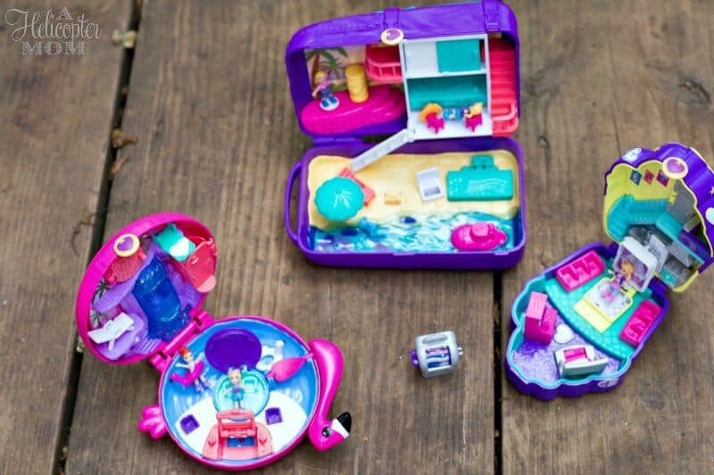 Fun for Kids - Polly Pockets Lockets