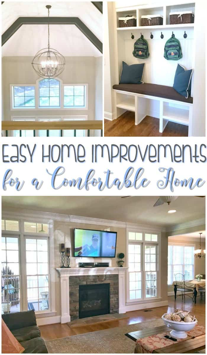 Easy Home Improvements for Comfortable Homes