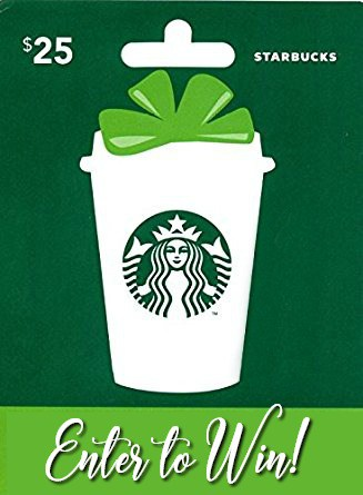 Starbucks Giveaway - Enter to win a gift card