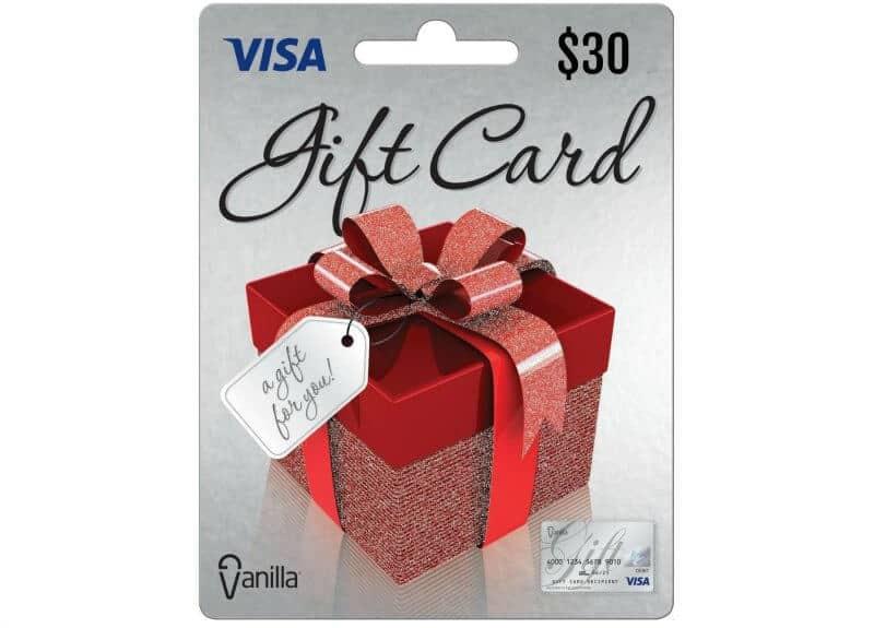 visa gift card giveaway 30