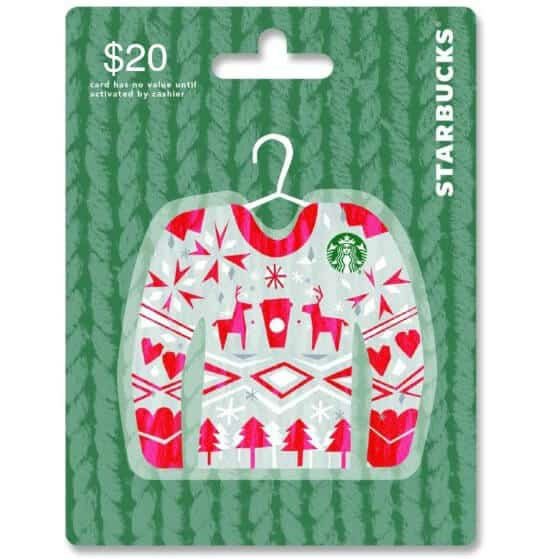 Starbucks Gift Card Holiday Giveaway