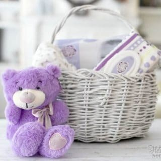 Easy Baby Gift Basket – Always My Baby